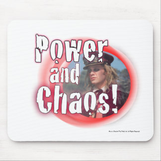 Power and Chaos Mouse Pad