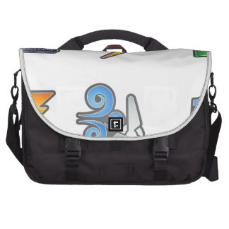 Power and Energy Icon Set Laptop Computer Bag