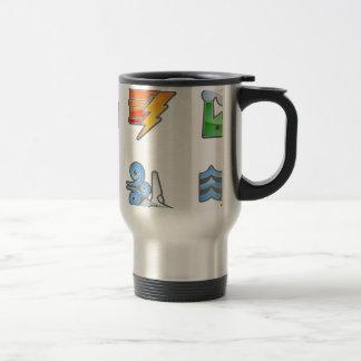 Power and Energy Icon Set Coffee Mug