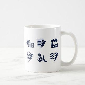 Power and Energy Icons Mug