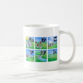 Power and Energy Icons Coffee Mug