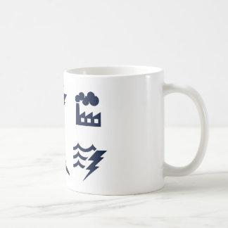 Power and Energy Icons Mugs