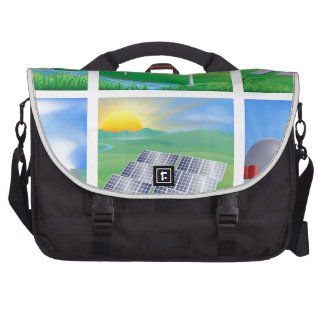 Power and Energy Sources Laptop Bags