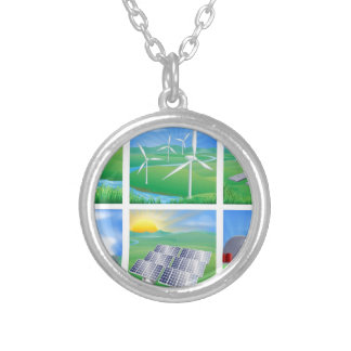 Power and Energy Sources Custom Necklace