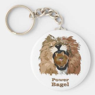Power Bagel Keychains