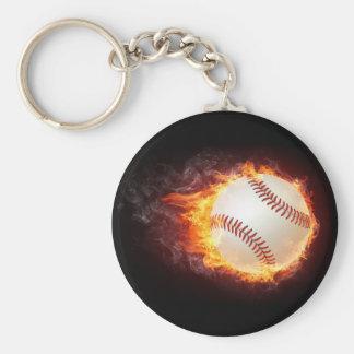 Power Baseball Keychain