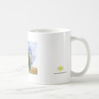 POWER BEAR CLASSIC WHITE COFFEE MUG