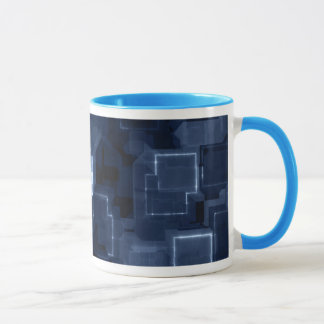 Power Blue Cyber Glow Mug