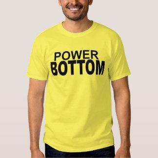 Power Bottom Bunk Catcher Receiver Tee Shirt