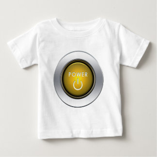 Power Button Baby T-Shirt