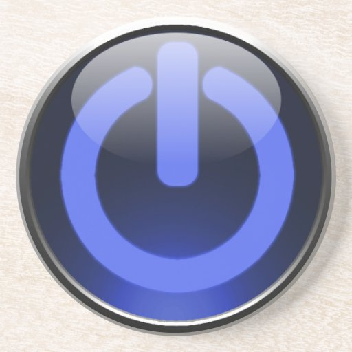 Power Button Coaster