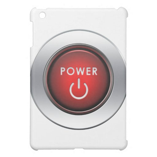 Power Button iPad Mini Cases