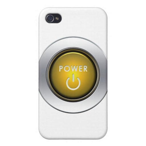 Power Button iPhone 4/4S Case