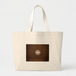 Power button large tote bag