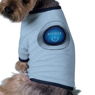 Power Button Pet Clothes