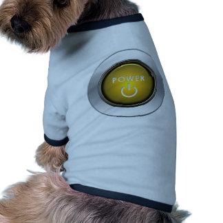 Power Button Pet Tee