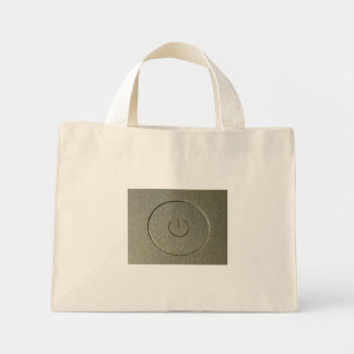 Power Button Tote Bag
