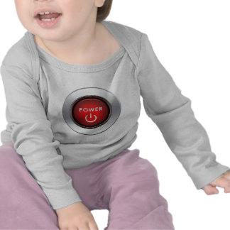 Power Button Tshirt