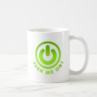Power Button - Turn Me on Coffee Mug
