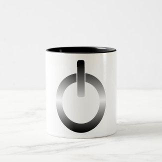 Power Button Two-Tone Coffee Mug