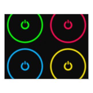 Power Buttons Card
