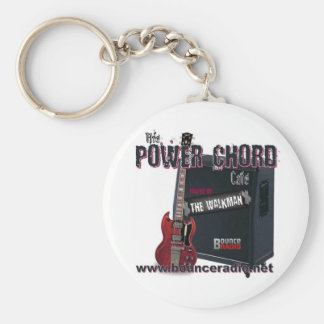 Power Chord Cafe Keychain