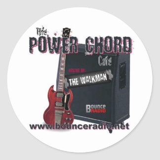Power Chord Cafe Stickers