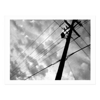 Power Clouds Postcard