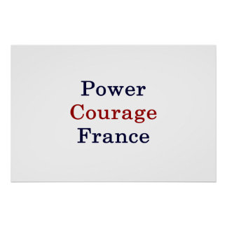 Power Courage France Poster