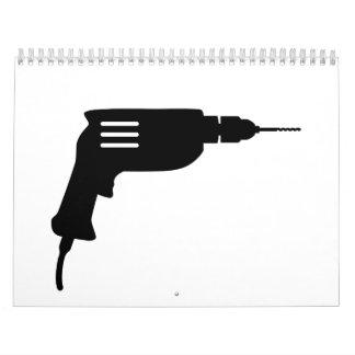 Power drill calendar