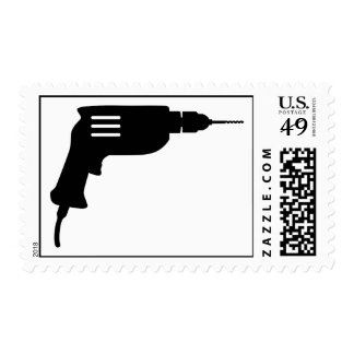 Power drill stamps