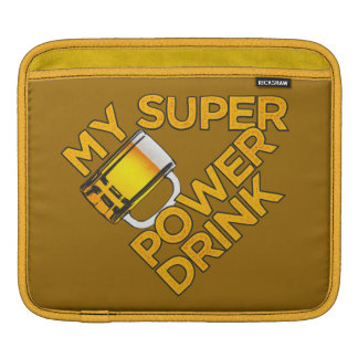 Power Drink laptop / iPad sleeve