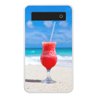 Power Drink on Tropical Beach Power Bank