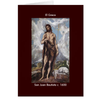 Power El Greco - Customized Greeting Cards