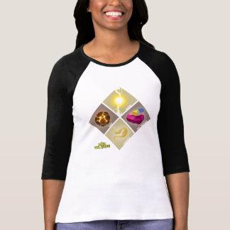 Power Emblem 3/4 Sleeve T-Shirt (Black)