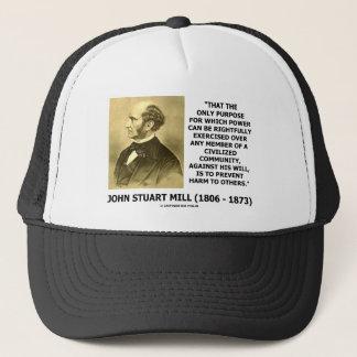 Power Exercised Civil Community Prevent Harm Trucker Hat