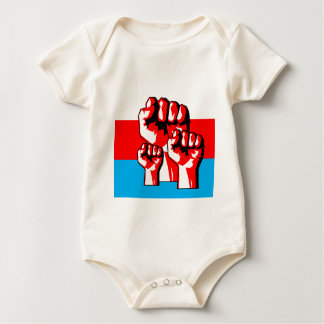 Power Fist Baby Bodysuit