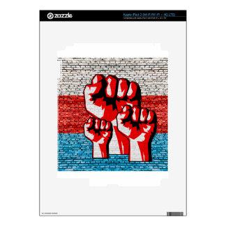 Power Fist iPad 3 Decal