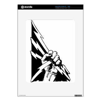 Power Fist iPad Decal