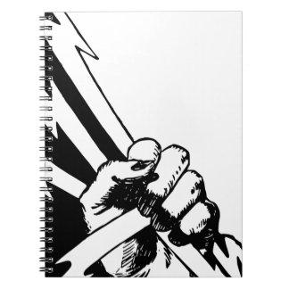 Power Fist Notebook