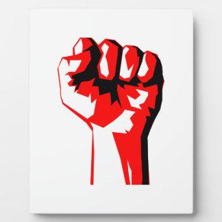 Power Fist Plaque