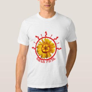 power flower tshirt