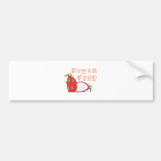 Power Food Bumper Sticker