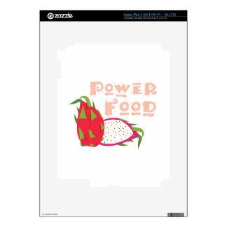 Power Food Skin For iPad 3