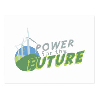 Power For Future Postcard