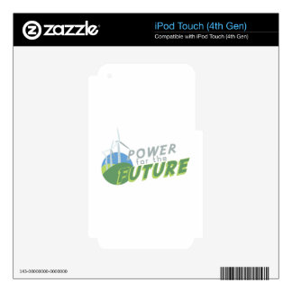 Power For Future Decal For iPod Touch 4G