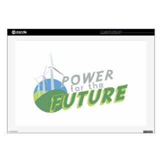 Power For Future Skin For Laptop