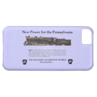 Power For The Pennsylvania Railroad 1926 iPhone 5C Cover