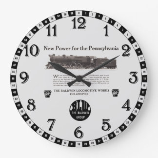 Power For The Pennsylvania Railroad 1926 Large Clock