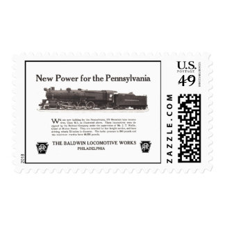 Power For The Pennsylvania Railroad 1926 Stamps